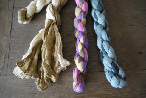 Baumwoll-Schals | raupenblau